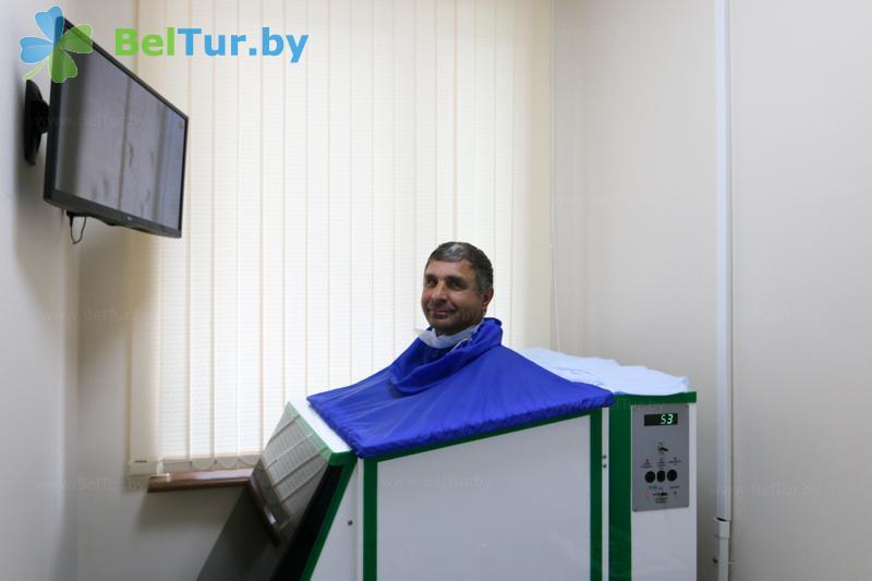 Отдых в Белоруссии Беларуси - оздоровительный центр Алеся - Ванна сухая углекислая