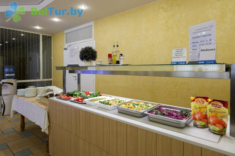 Отдых в Белоруссии Беларуси - оздоровительный центр Алеся - Столовая