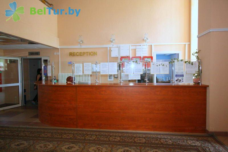 Отдых в Белоруссии Беларуси - гостиница Раубичи - Регистратура
