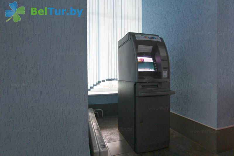 Отдых в Белоруссии Беларуси - гостиница Раубичи - Банкомат