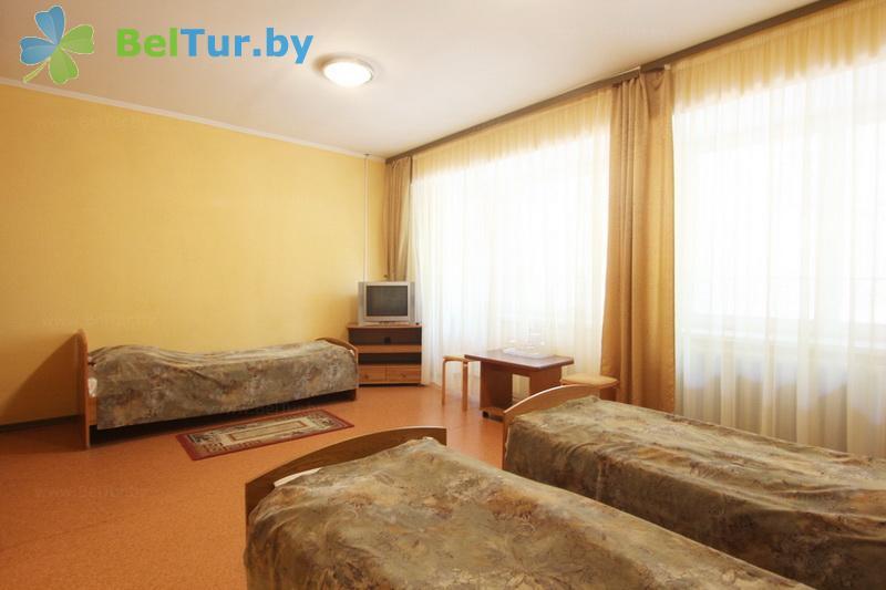 Отдых в Белоруссии Беларуси - туристический комплекс Высокий берег - трехместный однокомнатный стандарт (корпус №1)