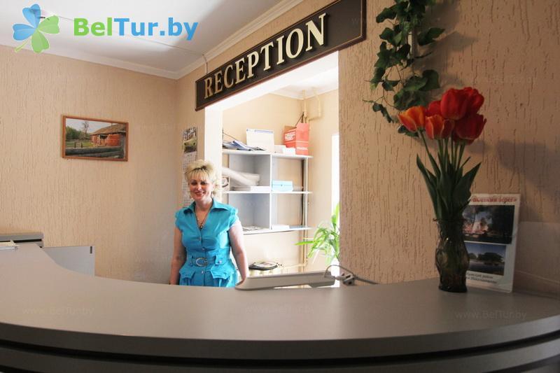 Отдых в Белоруссии Беларуси - туристический комплекс Высокий берег - Регистратура