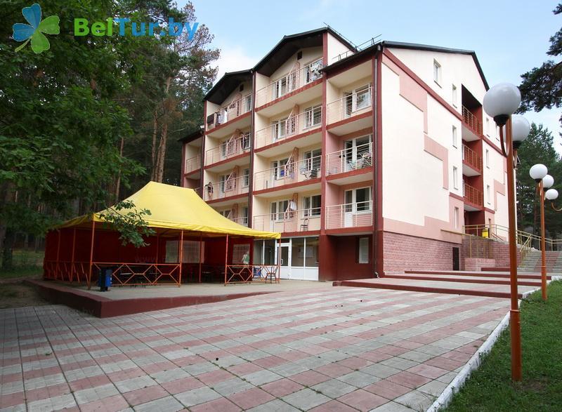 Отдых в Белоруссии Беларуси - туристический комплекс Высокий берег - корпус №1