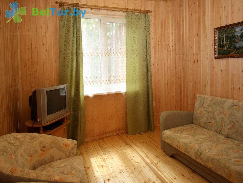 Отдых в Белоруссии Беларуси - туристический комплекс Высокий берег - двухместный двухкомнатный (коттеджи №1, 2, 3, 4)