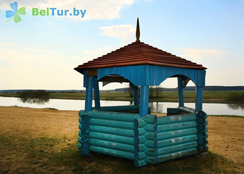 Отдых в Белоруссии Беларуси - туристический комплекс Высокий берег - Беседка