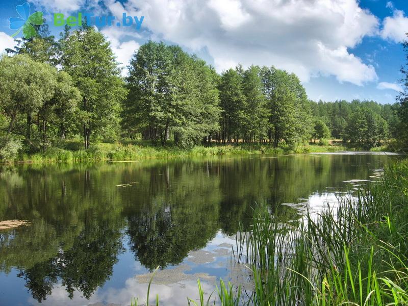 Отдых в Белоруссии Беларуси - туристический комплекс Высокий берег - Водоём