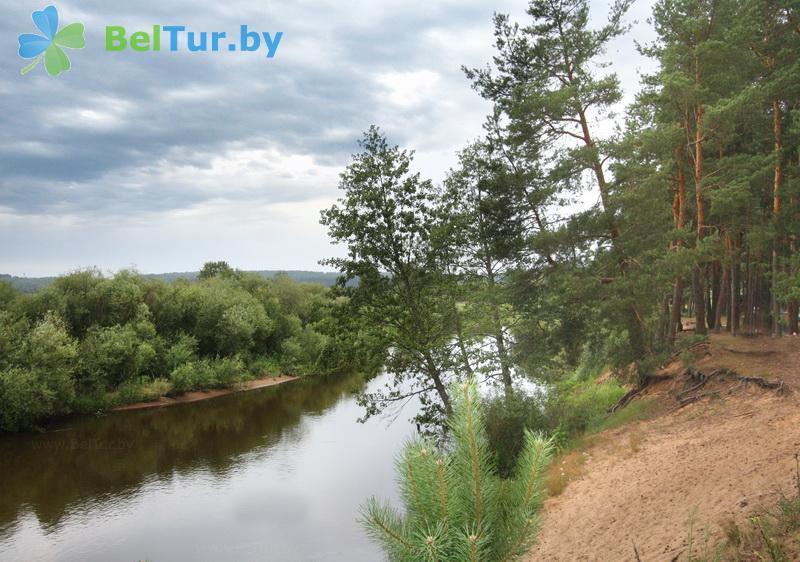 Отдых в Белоруссии Беларуси - туристический комплекс Высокий берег - Рыбалка