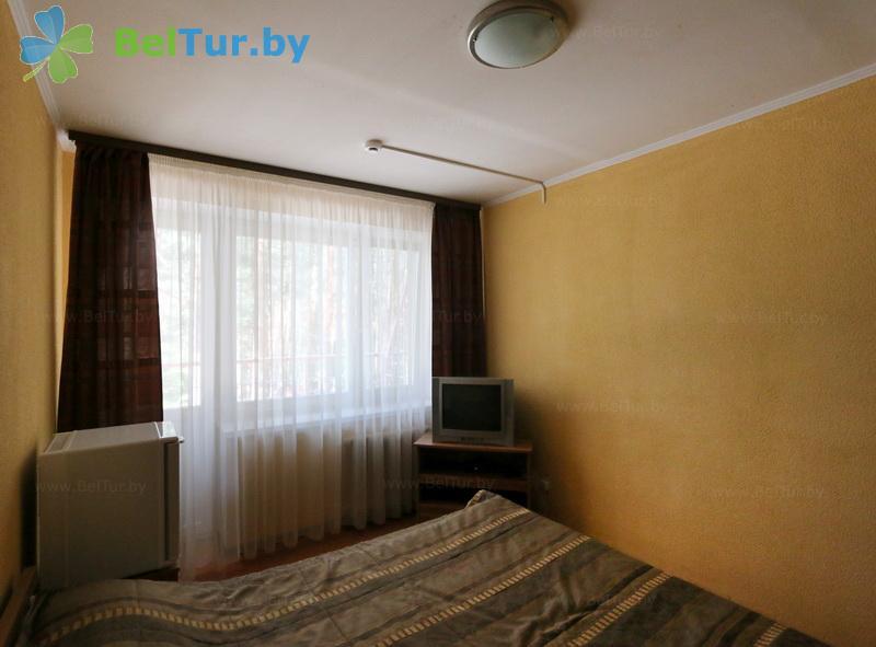 Отдых в Белоруссии Беларуси - туристический комплекс Высокий берег - двухместный однокомнатный стандарт (корпус №1)