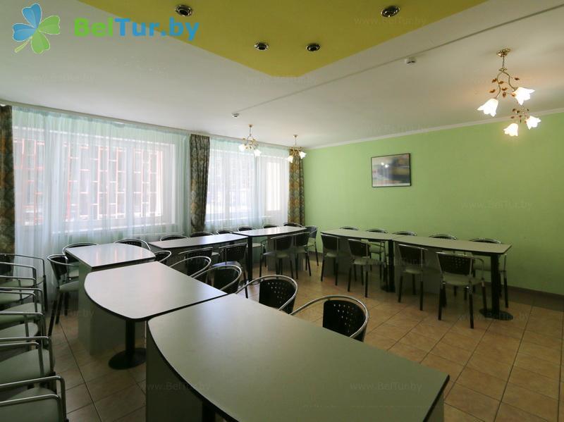 Отдых в Белоруссии Беларуси - туристический комплекс Высокий берег - Конференц-зал