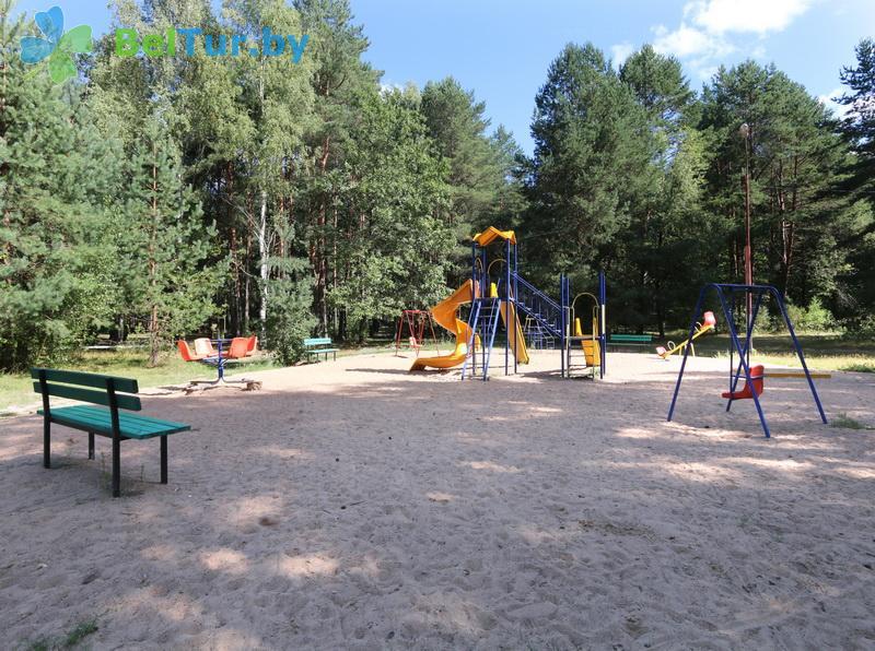 Отдых в Белоруссии Беларуси - туристический комплекс Высокий берег - Детская площадка