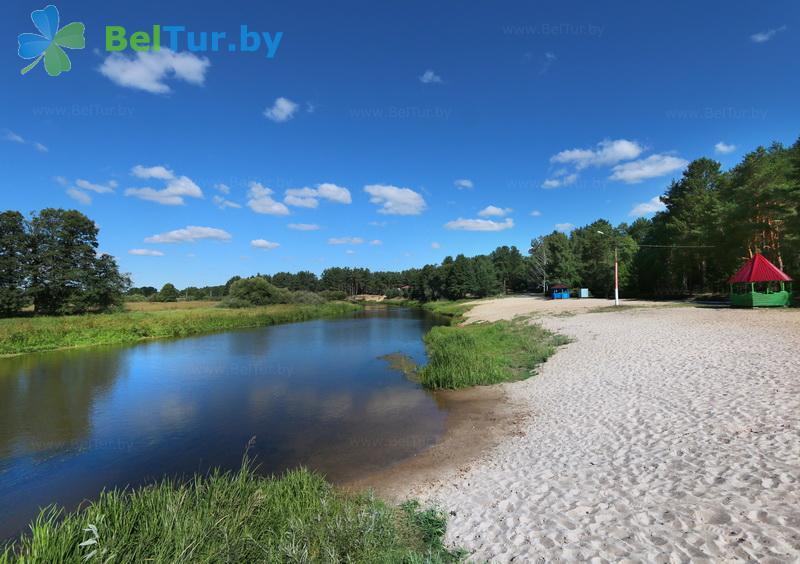 Отдых в Белоруссии Беларуси - туристический комплекс Высокий берег - Пляж