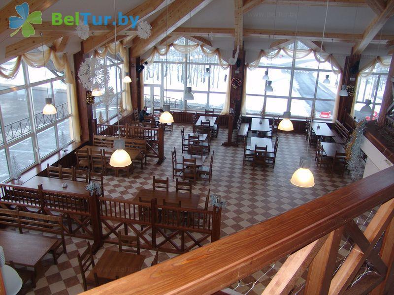 Отдых в Белоруссии Беларуси - республиканский горнолыжный центр Силичи - Банкетный зал