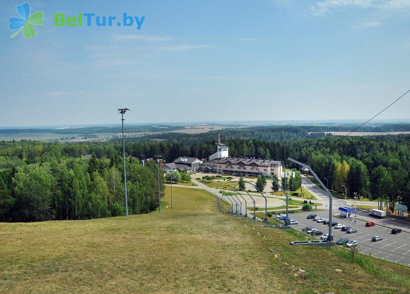 Отдых в Белоруссии Беларуси - республиканский горнолыжный центр Силичи - Территория и природа