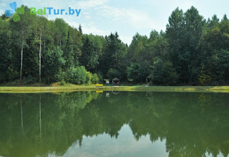 Отдых в Белоруссии Беларуси - республиканский горнолыжный центр Силичи - Рыбалка