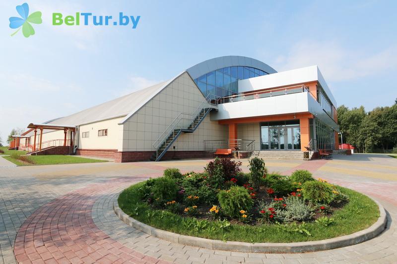 Отдых в Белоруссии Беларуси - республиканский горнолыжный центр Силичи - спорткомплекс