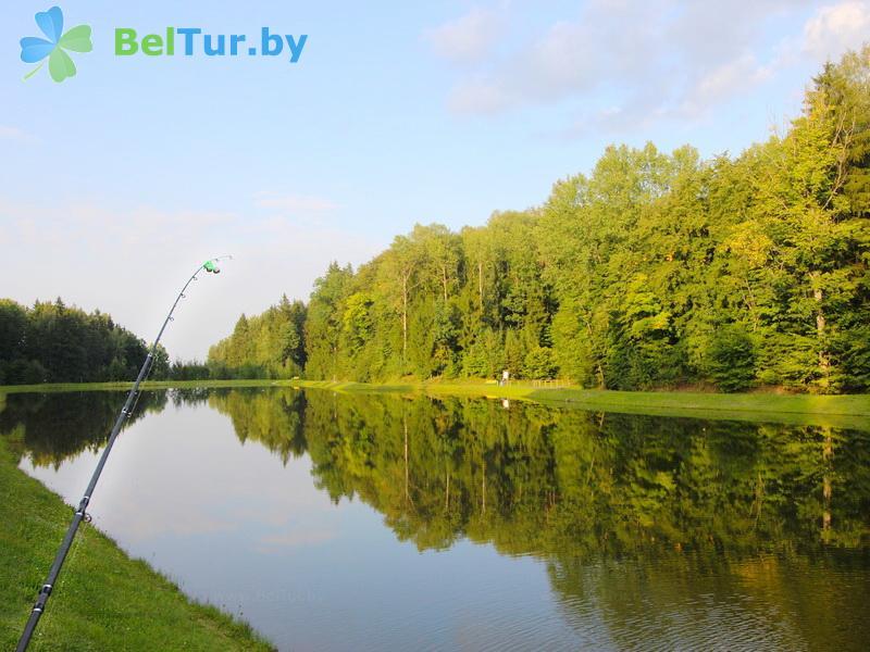 Отдых в Белоруссии Беларуси - республиканский горнолыжный центр Силичи - Водоём