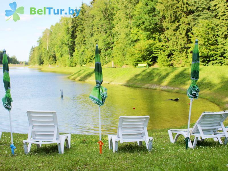 Отдых в Белоруссии Беларуси - республиканский горнолыжный центр Силичи - Пляж