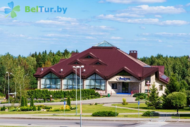 Отдых в Белоруссии Беларуси - республиканский горнолыжный центр Силичи - ресторан Завируха