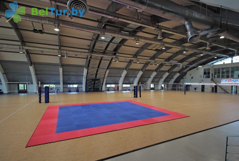 Отдых в Белоруссии Беларуси - республиканский горнолыжный центр Силичи - Спортзал