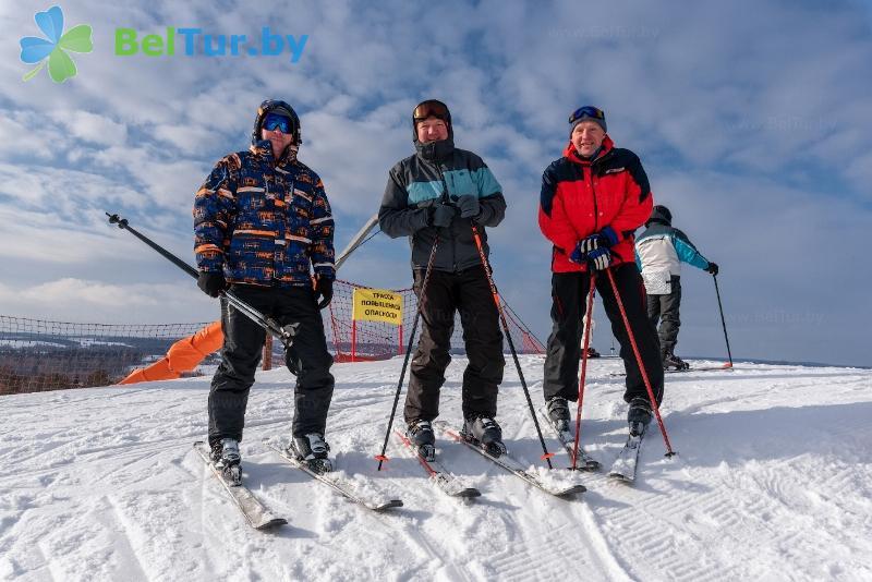 Отдых в Белоруссии Беларуси - республиканский горнолыжный центр Силичи - Горнолыжный спуск
