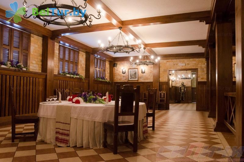 Отдых в Белоруссии Беларуси - республиканский горнолыжный центр Силичи - Ресторан