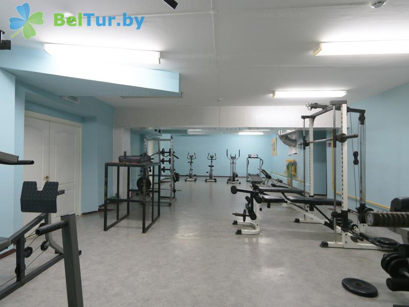 Отдых в Белоруссии Беларуси - оздоровительный комплекс Лес - Тренажерный зал
