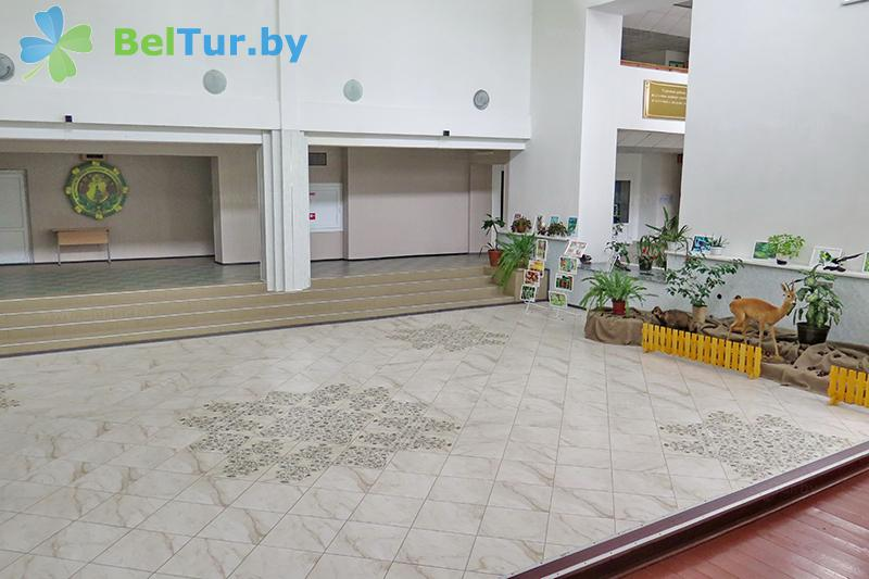 Отдых в Белоруссии Беларуси - оздоровительный комплекс Лес - Регистратура