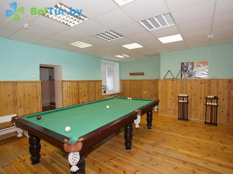 Отдых в Белоруссии Беларуси - оздоровительный комплекс Лес - Бильярд