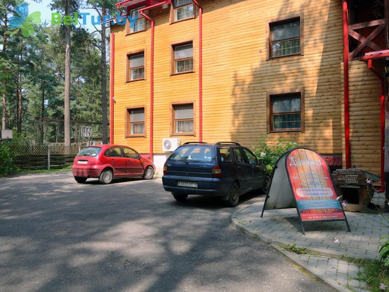 Отдых в Белоруссии Беларуси - туристический комплекс Дудинка-Сити - Парковка