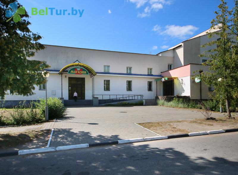 Отдых в Белоруссии Беларуси - гостиничный комплекс Сергуч - магазин