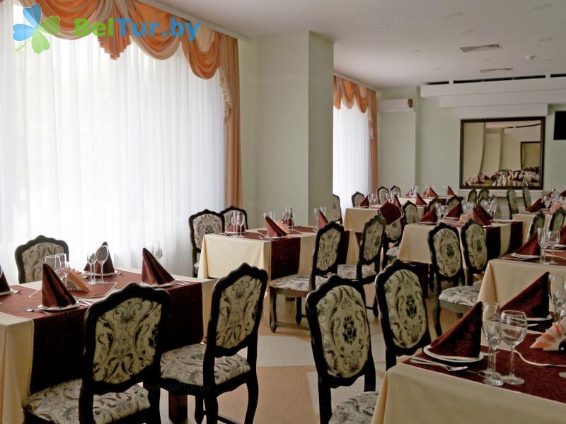 Отдых в Белоруссии Беларуси - гостиничный комплекс Сергуч - Ресторан