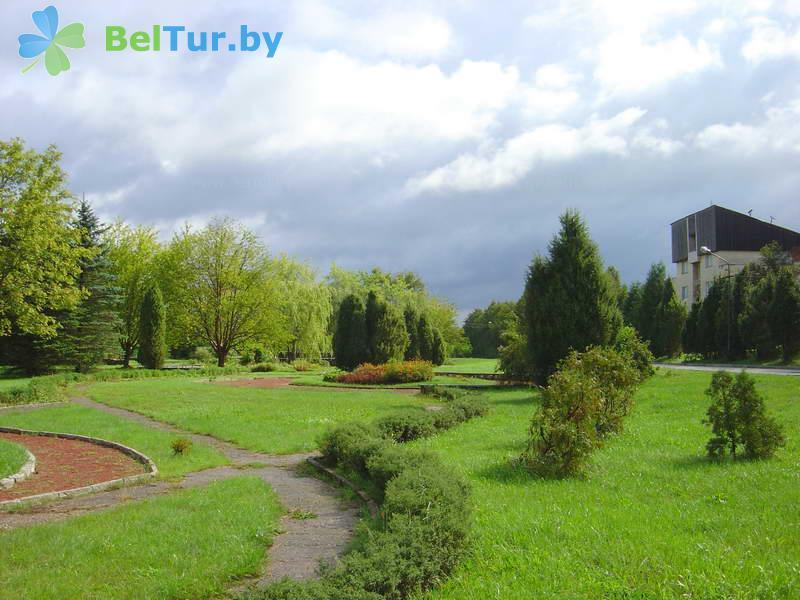 Отдых в Белоруссии Беларуси - гостиничный комплекс Сергуч - Территория и природа