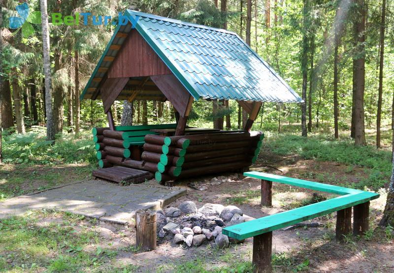 Отдых в Белоруссии Беларуси - гостевой дом Хомино - Площадка для шашлыков