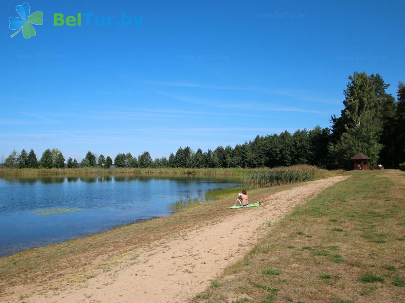 Отдых в Белоруссии Беларуси - гостевой дом Плавно - Пляж