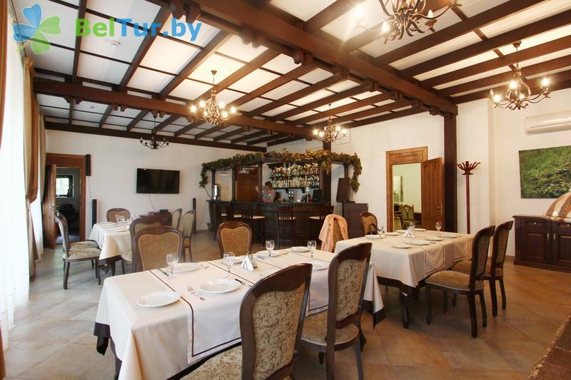 Отдых в Белоруссии Беларуси - гостевой дом Плавно - Ресторан