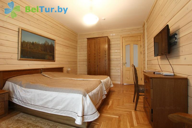 Rest in Belarus - hotel complex Plavno GK - one-room double / double (hotel)