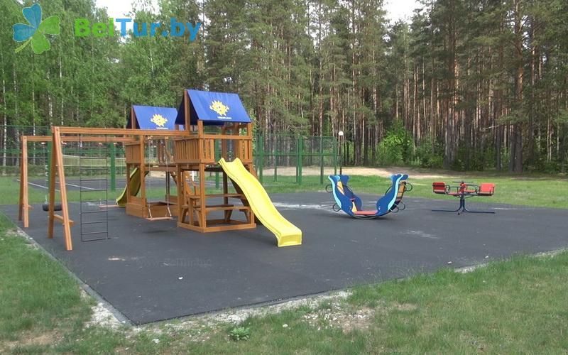 Отдых в Белоруссии Беларуси - гостиничный комплекс Плавно - Детская площадка