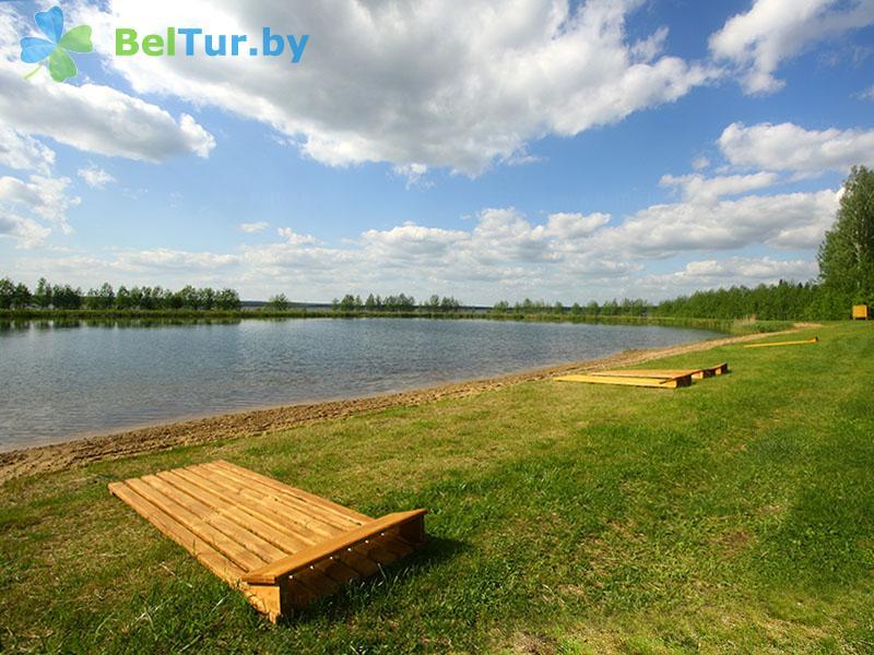 Отдых в Белоруссии Беларуси - гостиничный комплекс Плавно - Пляж