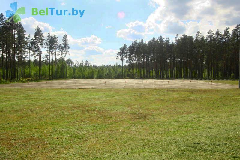Отдых в Белоруссии Беларуси - гостиничный комплекс Плавно - Вертолетная площадка