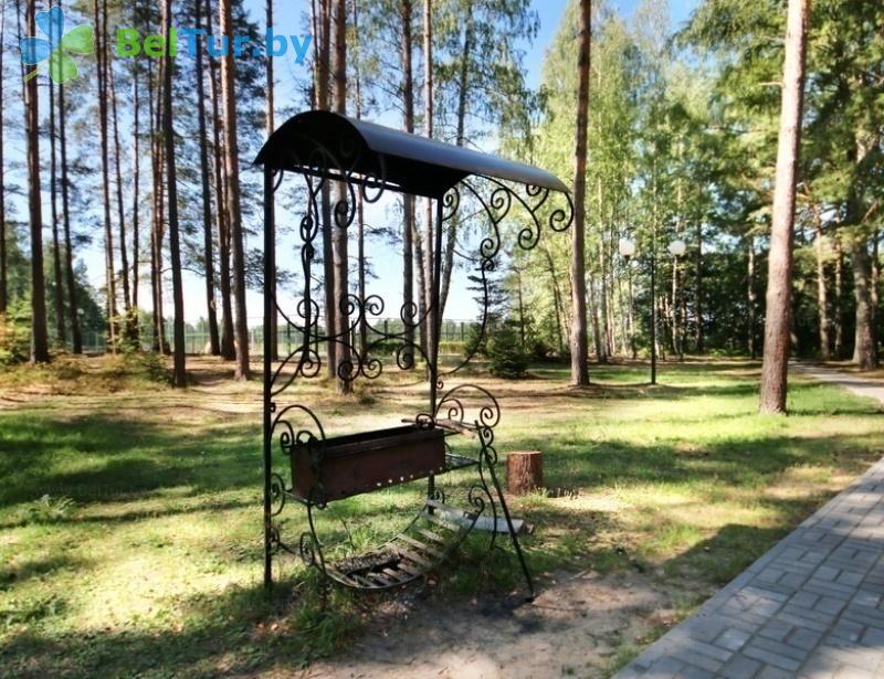 Отдых в Белоруссии Беларуси - гостиничный комплекс Плавно - Площадка для шашлыков