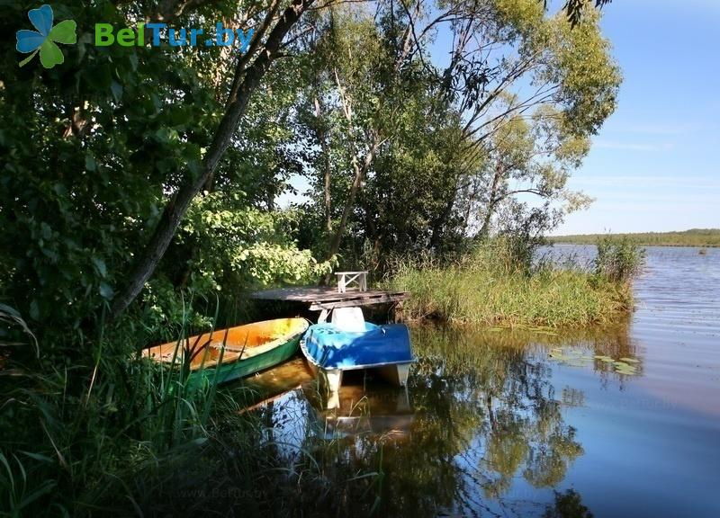 Отдых в Белоруссии Беларуси - гостиничный комплекс Плавно - Прокат лодок