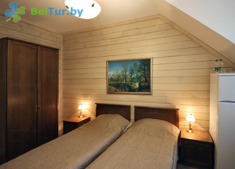 Отдых в Белоруссии Беларуси - гостиничный комплекс Плавно - двухместный однокомнатный / twin (гостиница)