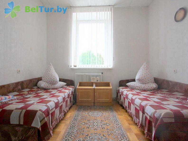 Отдых в Белоруссии Беларуси - база отдыха Добромысли - пятиместный однокомнатный/ 3 гостя (гостевой дом №1)