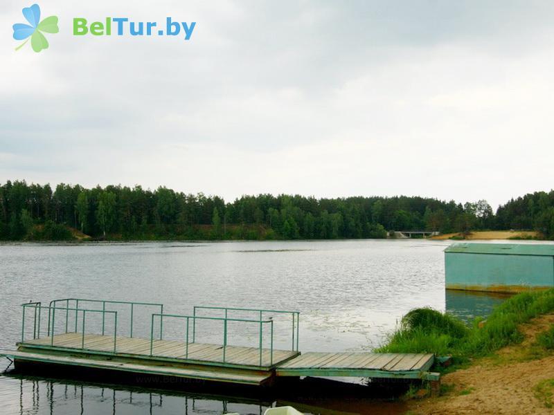 Отдых в Белоруссии Беларуси - база отдыха Добромысли - Пляж