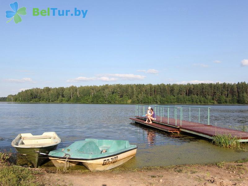 Отдых в Белоруссии Беларуси - база отдыха Добромысли - Прокат лодок
