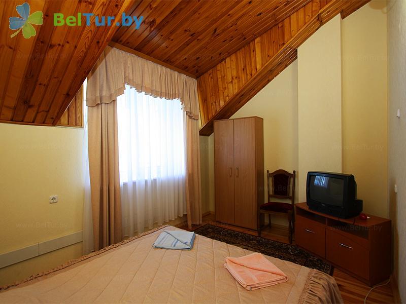 Отдых в Белоруссии Беларуси - база отдыха Золово - дом (4 человека) (коттедж №1)