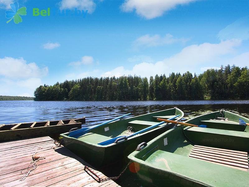 Отдых в Белоруссии Беларуси - база отдыха Золово - Прокат лодок