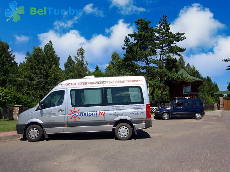 Отдых в Белоруссии Беларуси - база отдыха Золово - Парковка