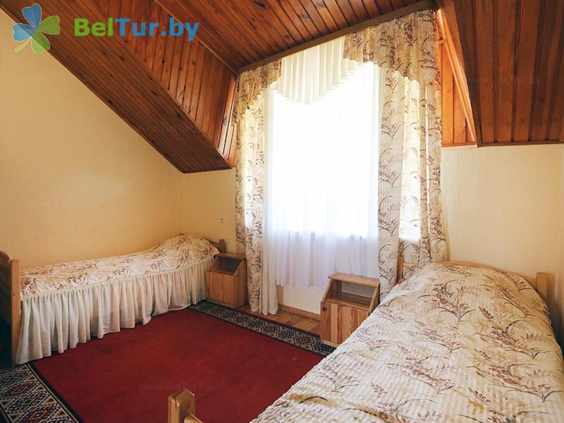Отдых в Белоруссии Беларуси - база отдыха Золово - двухместный однокомнатный (коттедж №2)