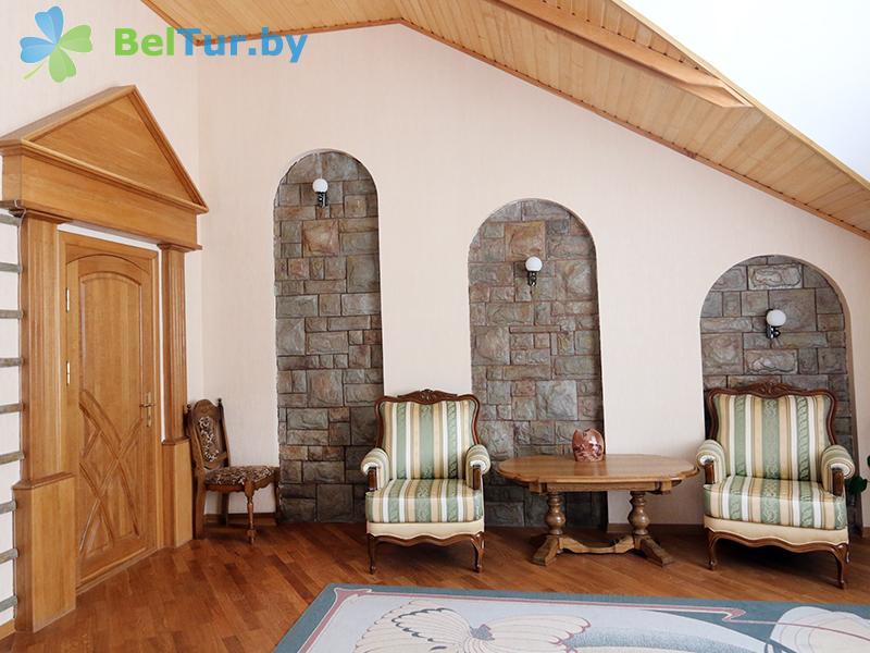 Отдых в Белоруссии Беларуси - база отдыха Золово - дом (4 человека) (коттедж №4)